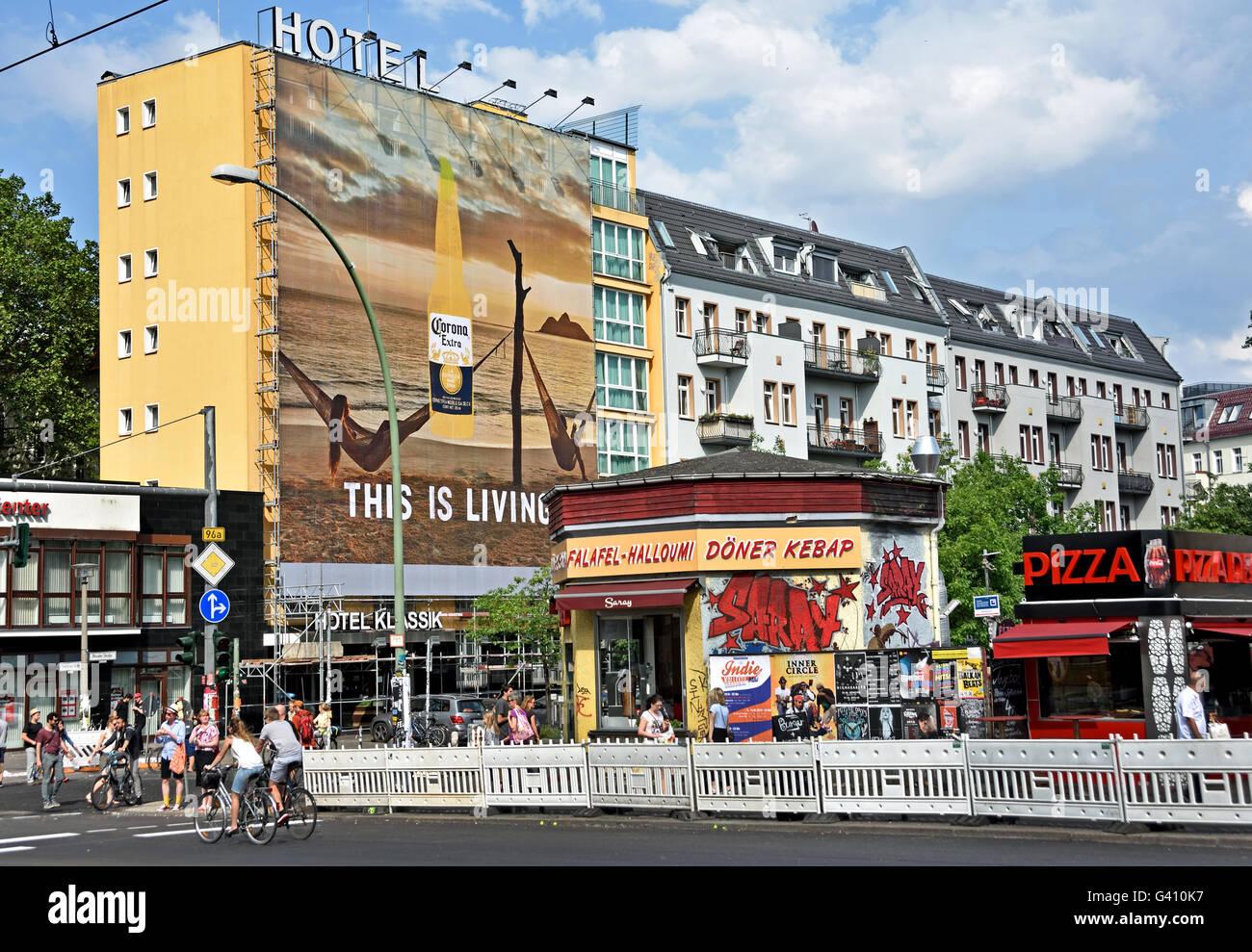 street fast food warschauer strasse friedrichshain kreuzberg stock photo royalty free image. Black Bedroom Furniture Sets. Home Design Ideas
