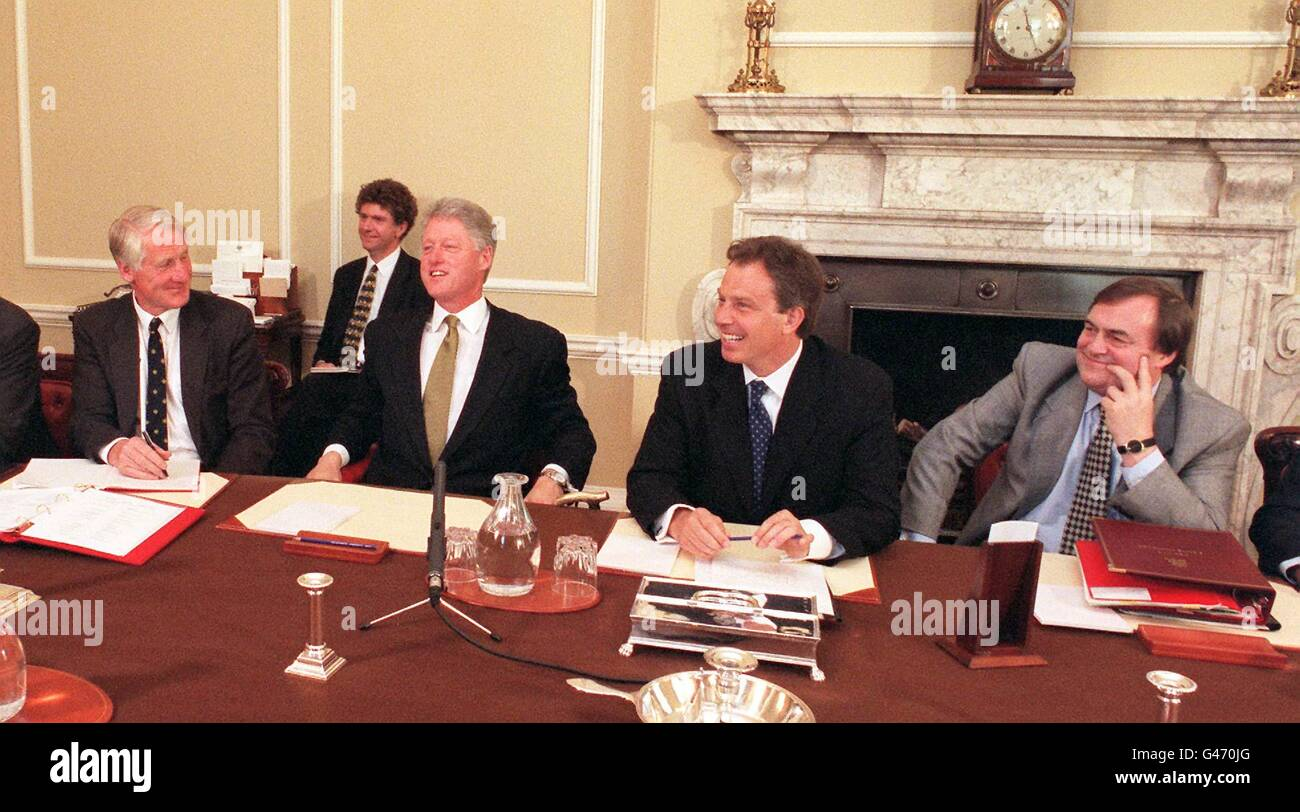 Clinton/Blair Cabinet Meeting