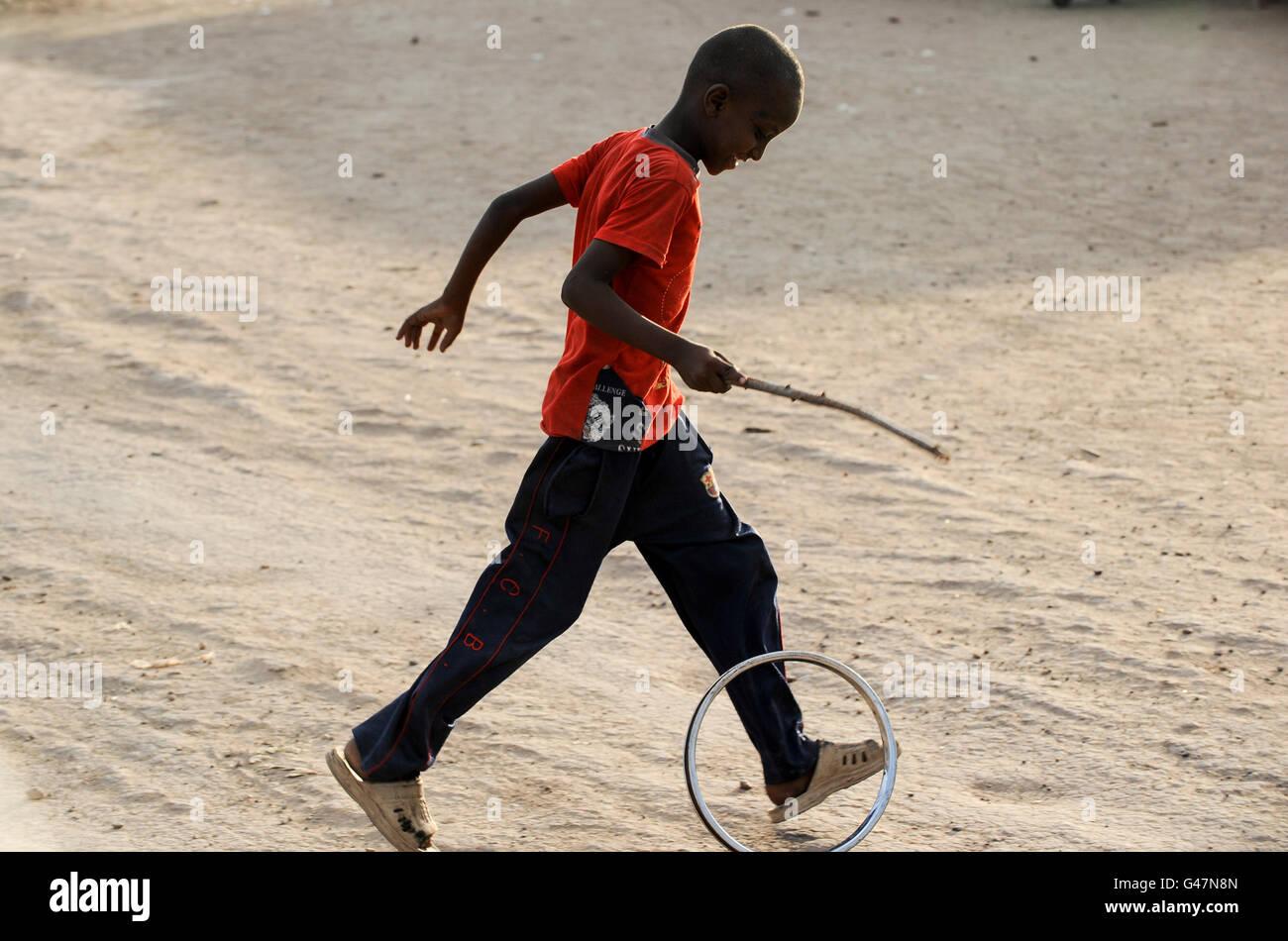 Kenya turkana region unhcr refugee camp kakuma where permanent 80 000 refugees from somalia