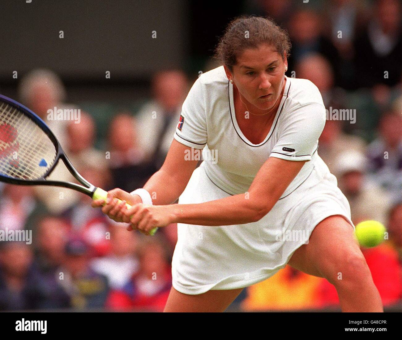 TENNIS Monica Seles Stock Royalty Free Image Alamy