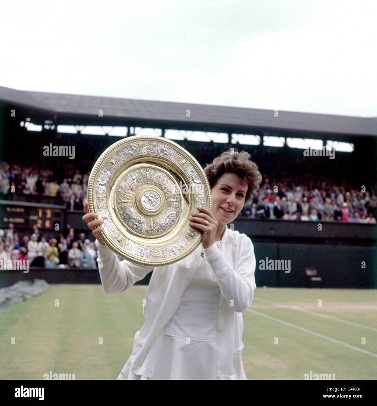 Tennis Wimbledon Championships La s Singles Final Maria