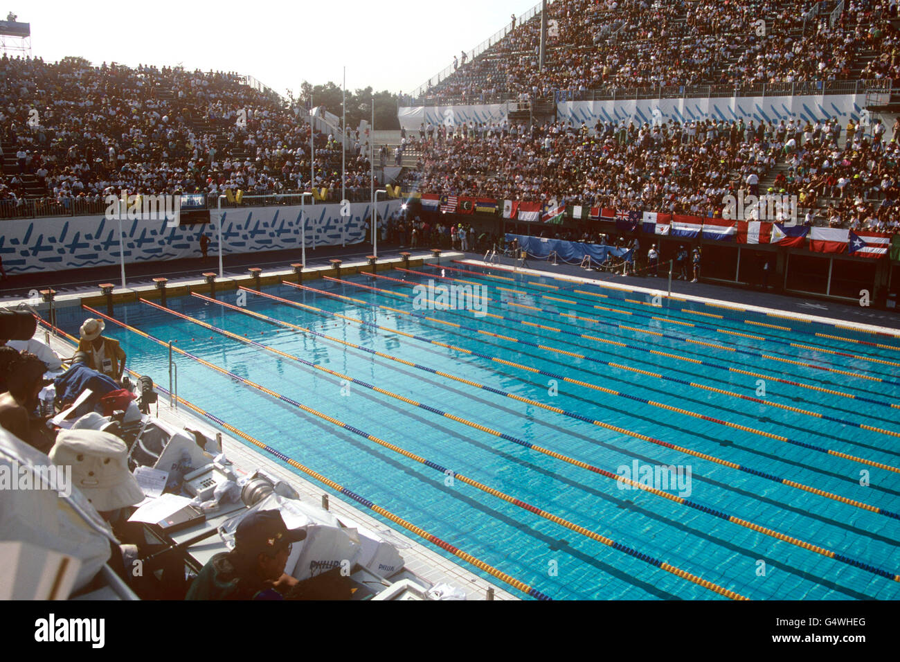 Barcelona olympic games 1992 swimming piscines bernat picornell stock photo 106283368 alamy - Piscines municipals barcelona ...
