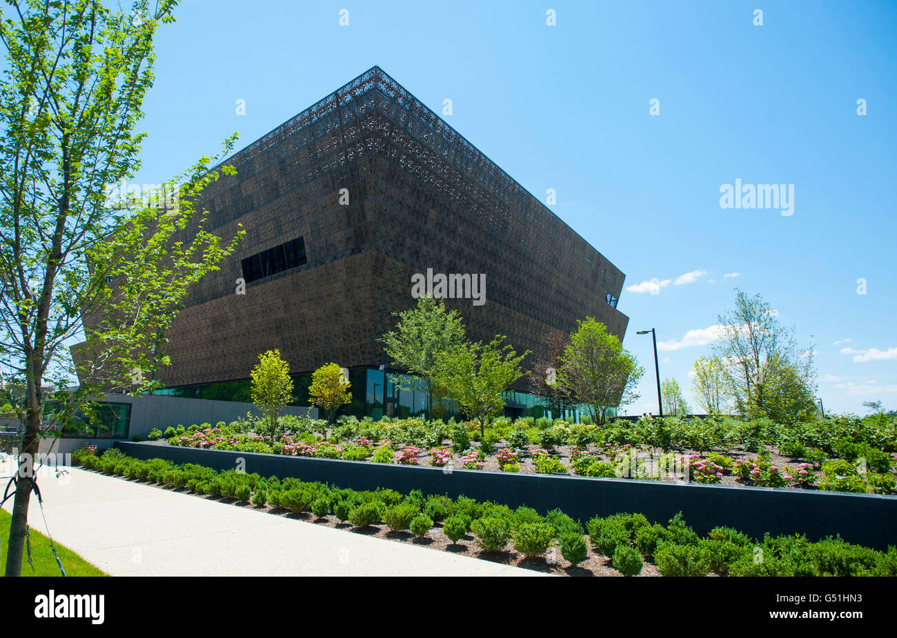 USA Washington DC The National Museum Of African American History - Historical museums in usa