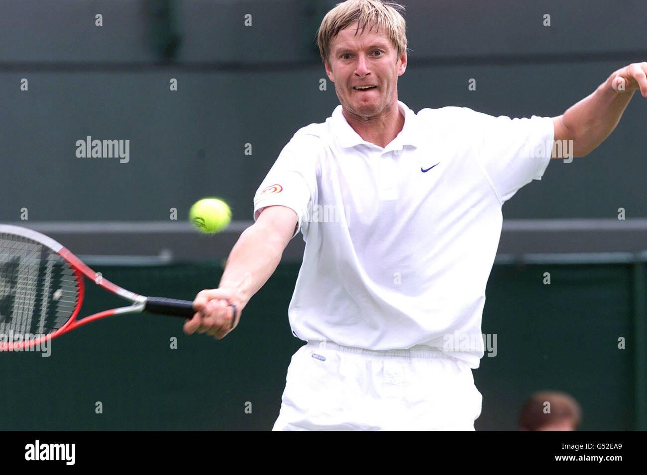 Wimbledon Yevgeny Kafelnikov Stock Royalty Free Image
