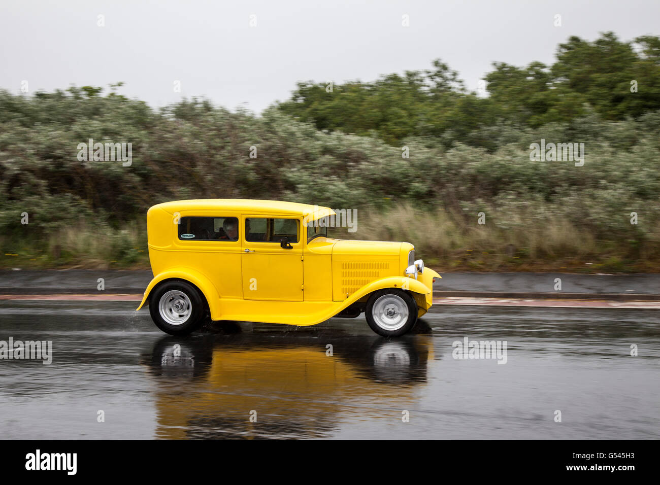 Ford Model A at Southport, Merseyside, UK. Vintage cars, modern ...