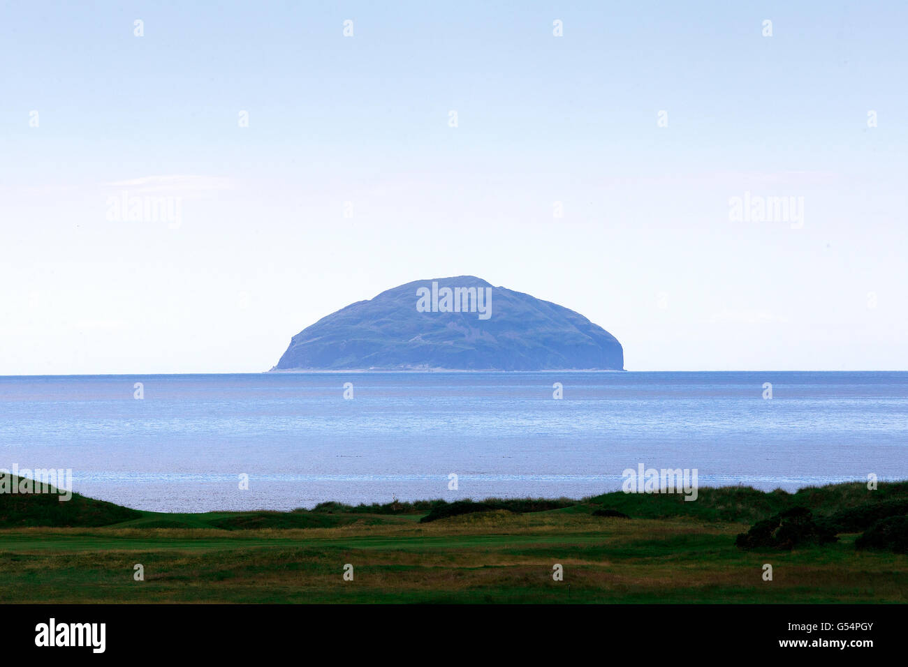 ailsa craig island as seen from trump turnberry a luxury
