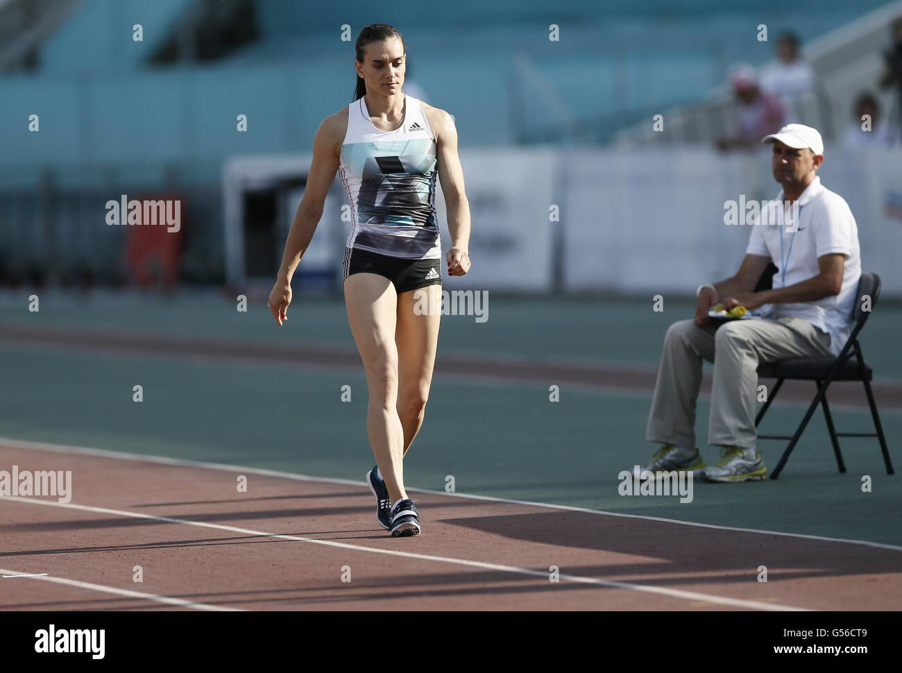 Cheboksary, Russia. 20th June, 2016. Athlete Yelena ...