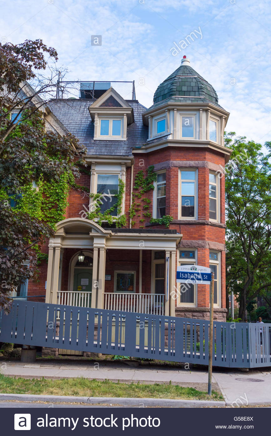 Beautiful old vintage victorian architecture in isabella street houses toronto has an amazing mixture of