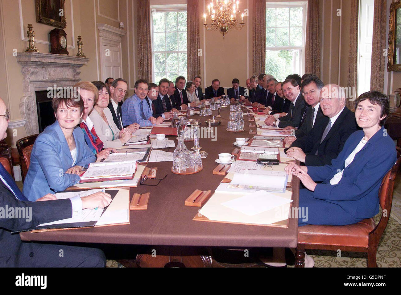 Blair's New Government Cabinet Stock Photo, Royalty Free Image ...