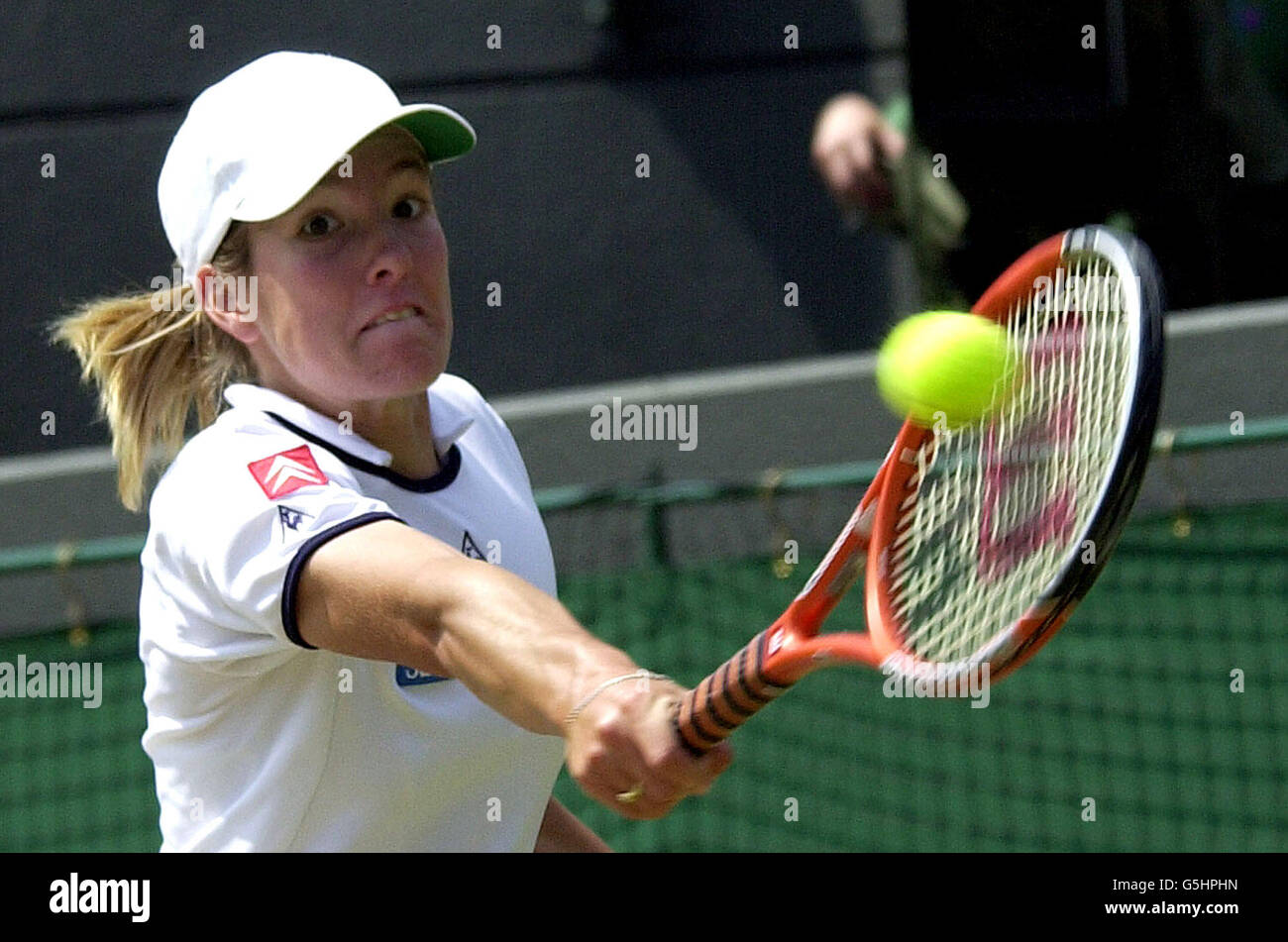 Wimbledon Justine Henin Stock Royalty Free Image