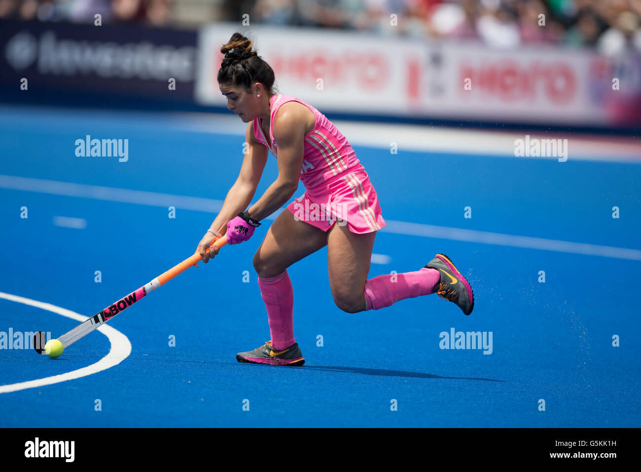 Investec Womens Hockey Champions Trophy 2016 Queen Elizabeth Olympic Park June Maria Jose Granatto Argentina