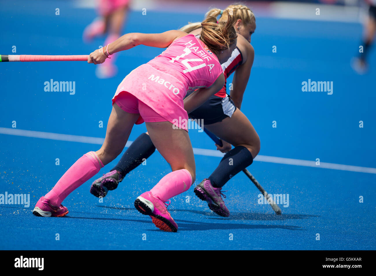 Investec Womens Hockey Champions Trophy 2016 Queen Elizabeth Olympic Park June Agustina Habif Argentina