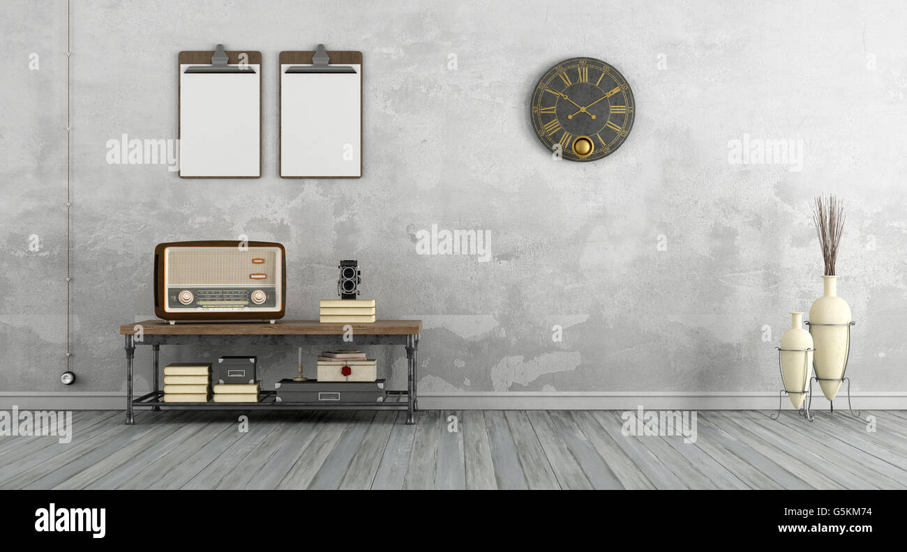 vintage 3d room - photo #2