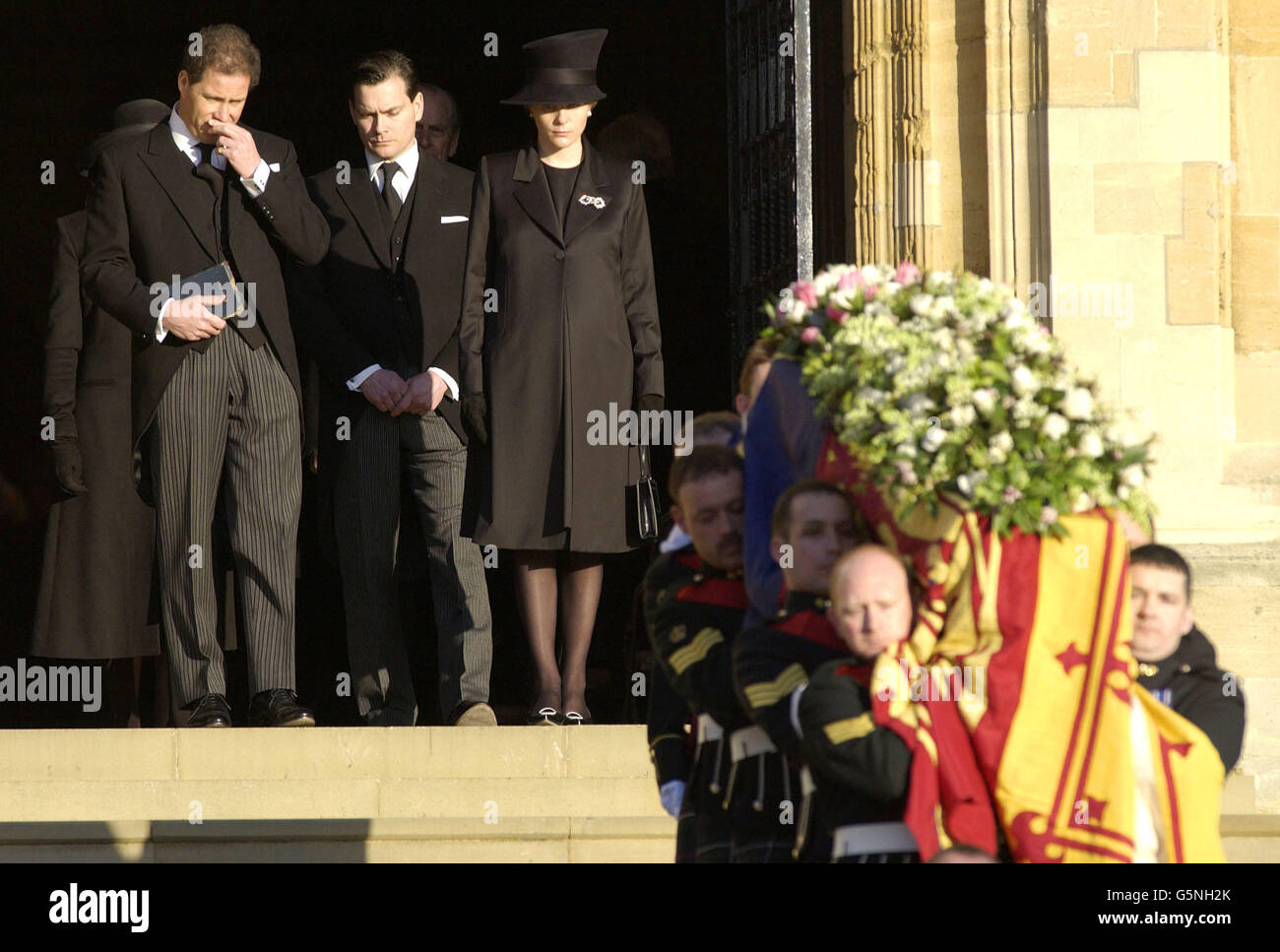 Young Princess Margaret >> Princess Margaret Funeral Stock Photo: 106809883 - Alamy