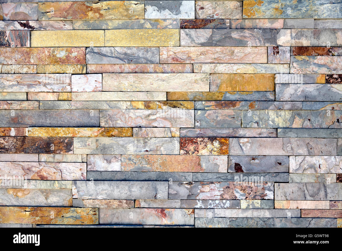 Stone Construction Materials : Natural stone materials in classic building patterns and