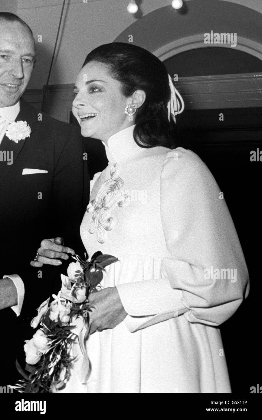 Wedding Of Lord Harlech And Pamela Colin Mayfair London