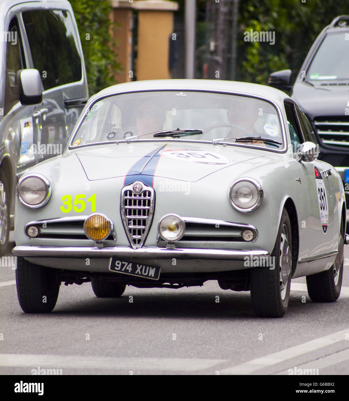 MAY 16: Alfa Romeo Giulietta Sprint Old