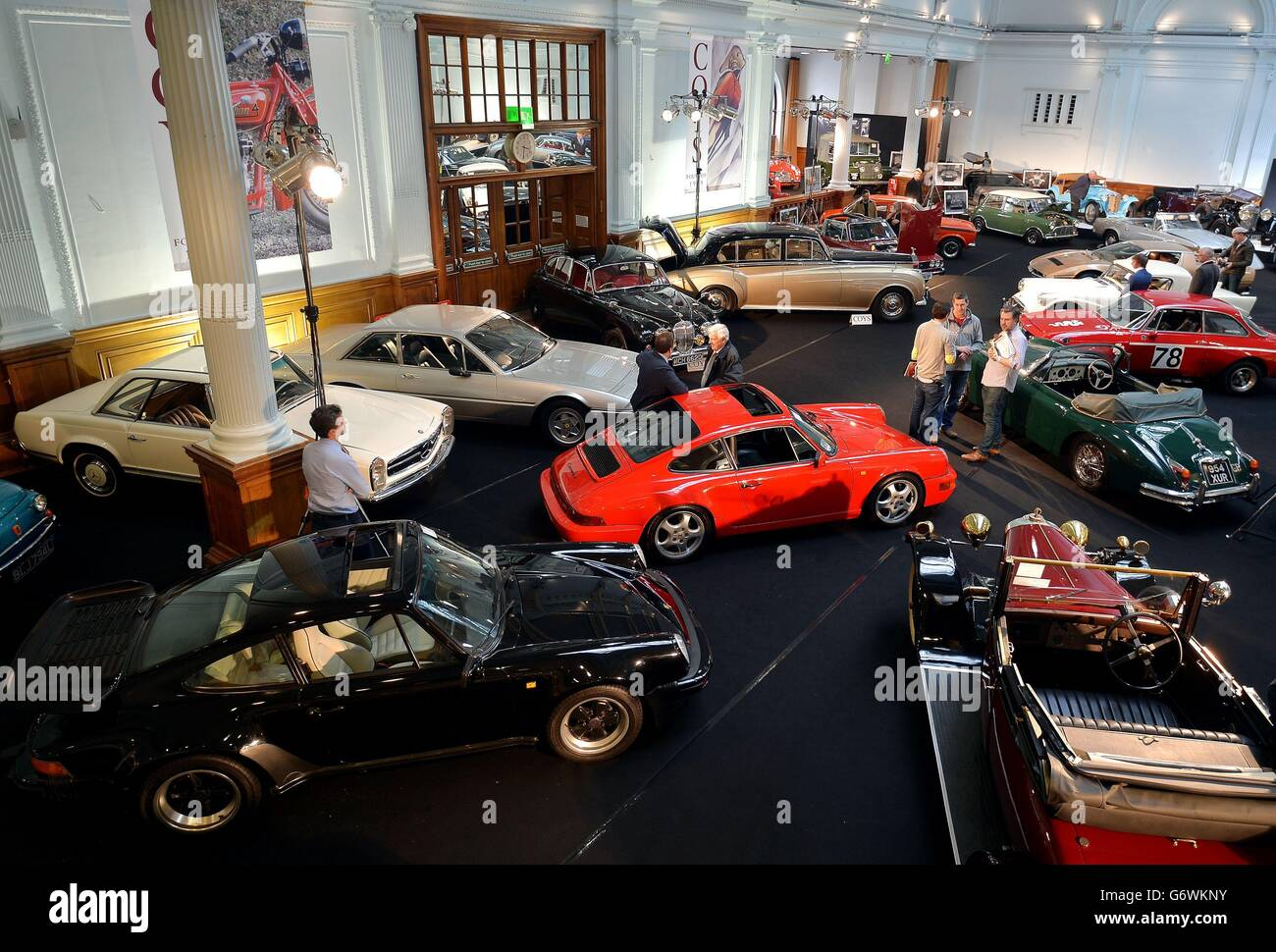 Vintage cars auction Stock Photo, Royalty Free Image: 107514455 ...