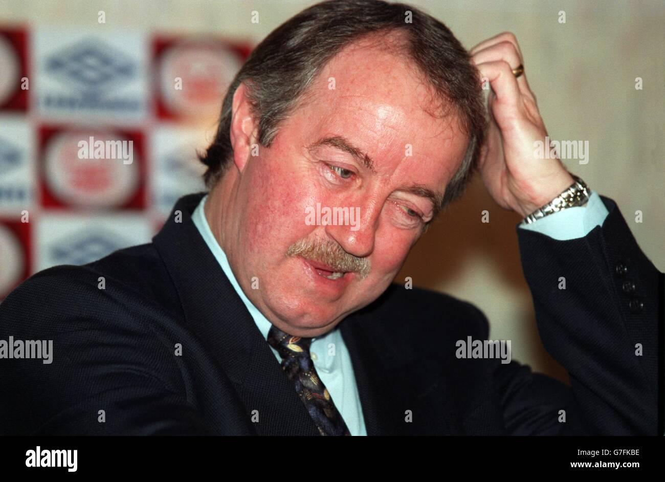Soccer Frank Clark Resignation Stock Royalty Free Image