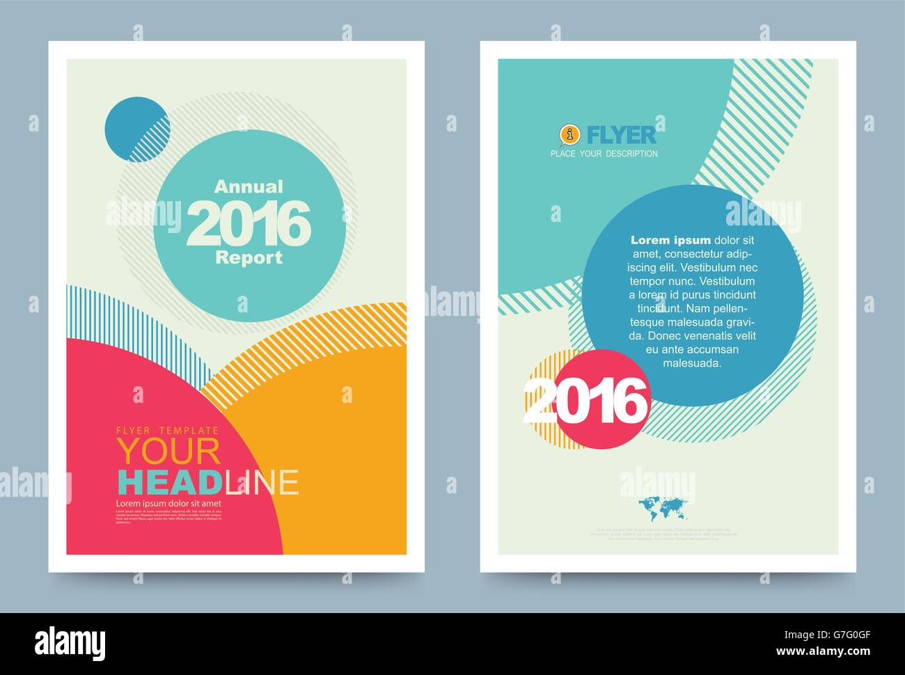 cover template design for business annual report flyer brochure, Presentation templates