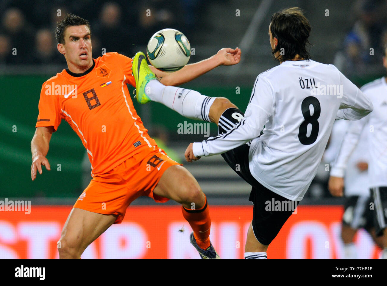 Mesut Oezil Germany Kevin Strootman Netherlands international