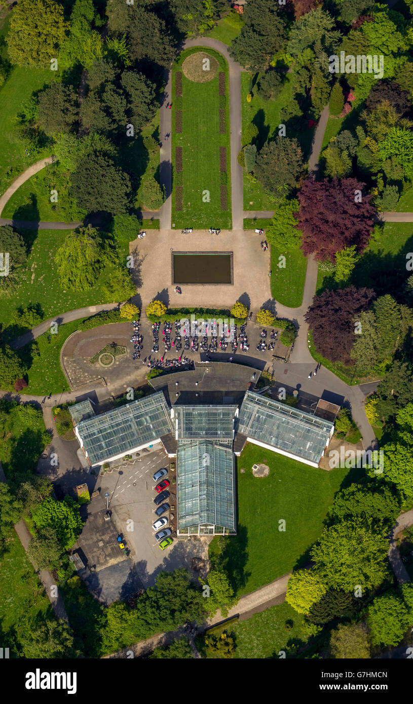 aerial view romberg park and zoo dortmund zoo dortmund ruhr stock photo royalty free image. Black Bedroom Furniture Sets. Home Design Ideas