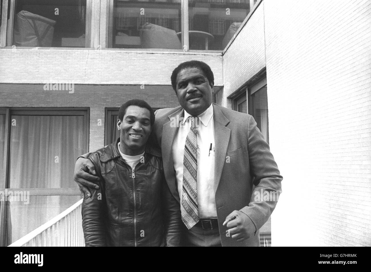 Boxing Ernie Terrell and Randy Smith London Stock