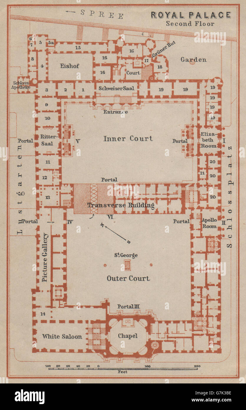 berliner stadtschloss berlin royal city palace second two plans of richmond palace royal collection trust