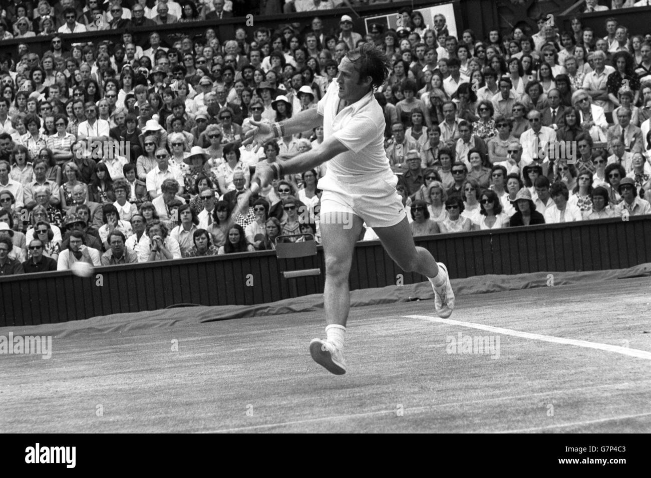 Tennis Wimbledon Men s Singles Semi Finals Arthur Ashe v
