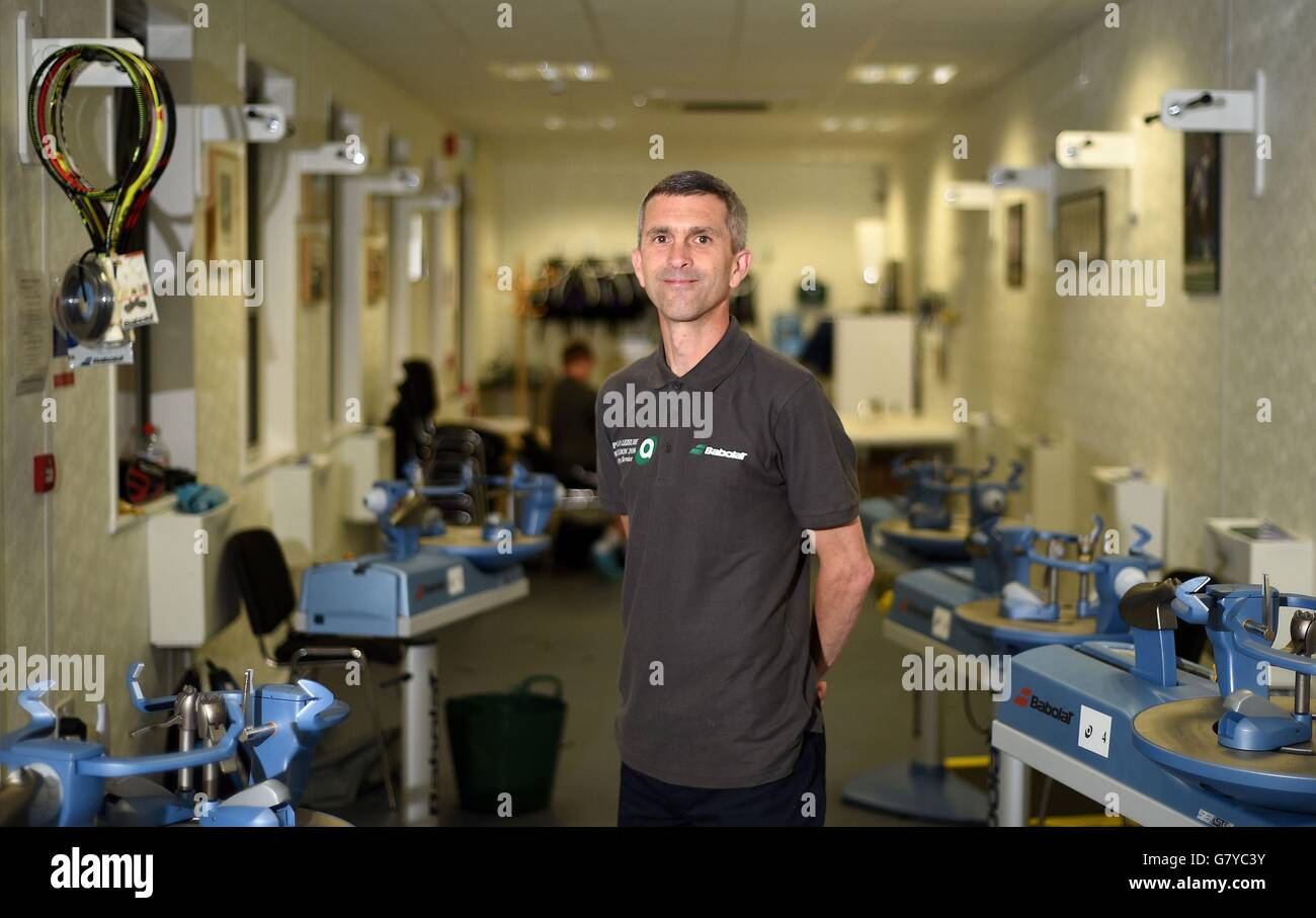 Andy Phillips of Apollo Leisure poses for a photograph before the