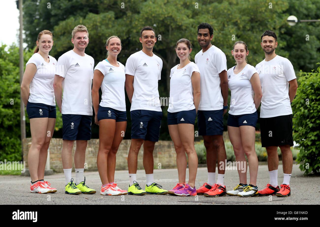 Team GB s left right Lauren Smith Marcus Ellis Gabby Adcock