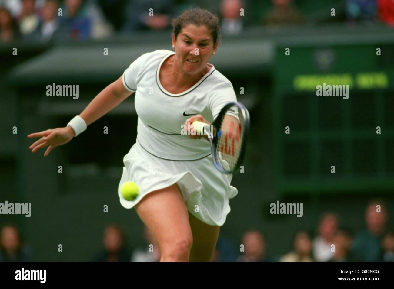 Tennis Wimbledon Championships Monica Seles v Rachel McQuillan