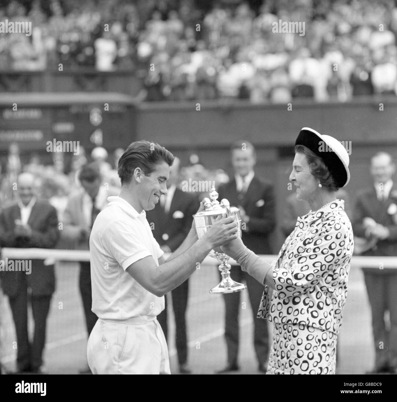 Centre Court Wimbledon Black and White Stock s & Alamy