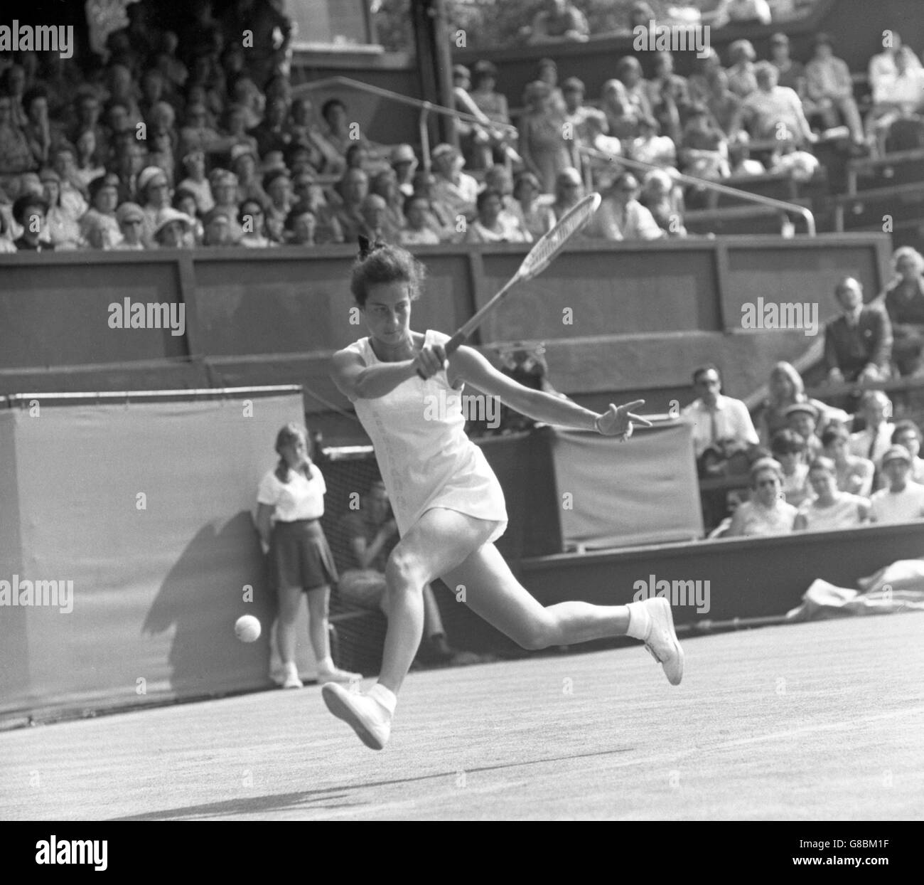 Tennis Wightman Cup Billie Jean King v Virginia Wade