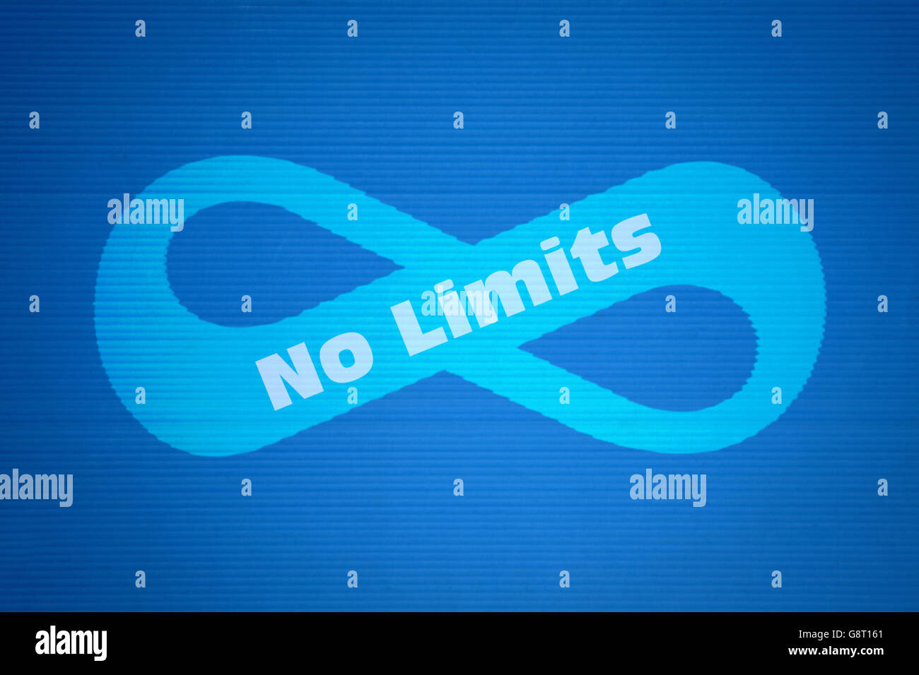 Mathematical symbol of infinity and text no limits on blue mathematical symbol of infinity and text no limits on blue background biocorpaavc