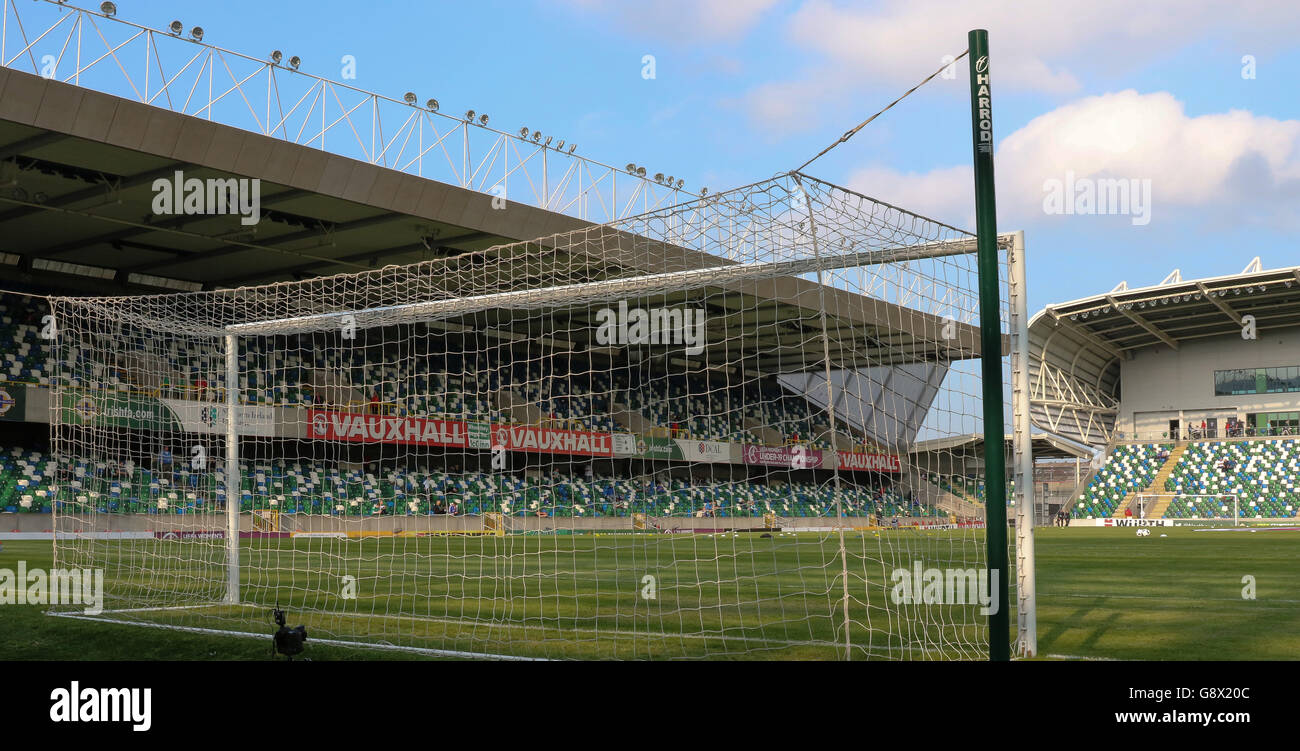 The National Football Stadium At Windsor Park Belfast Where