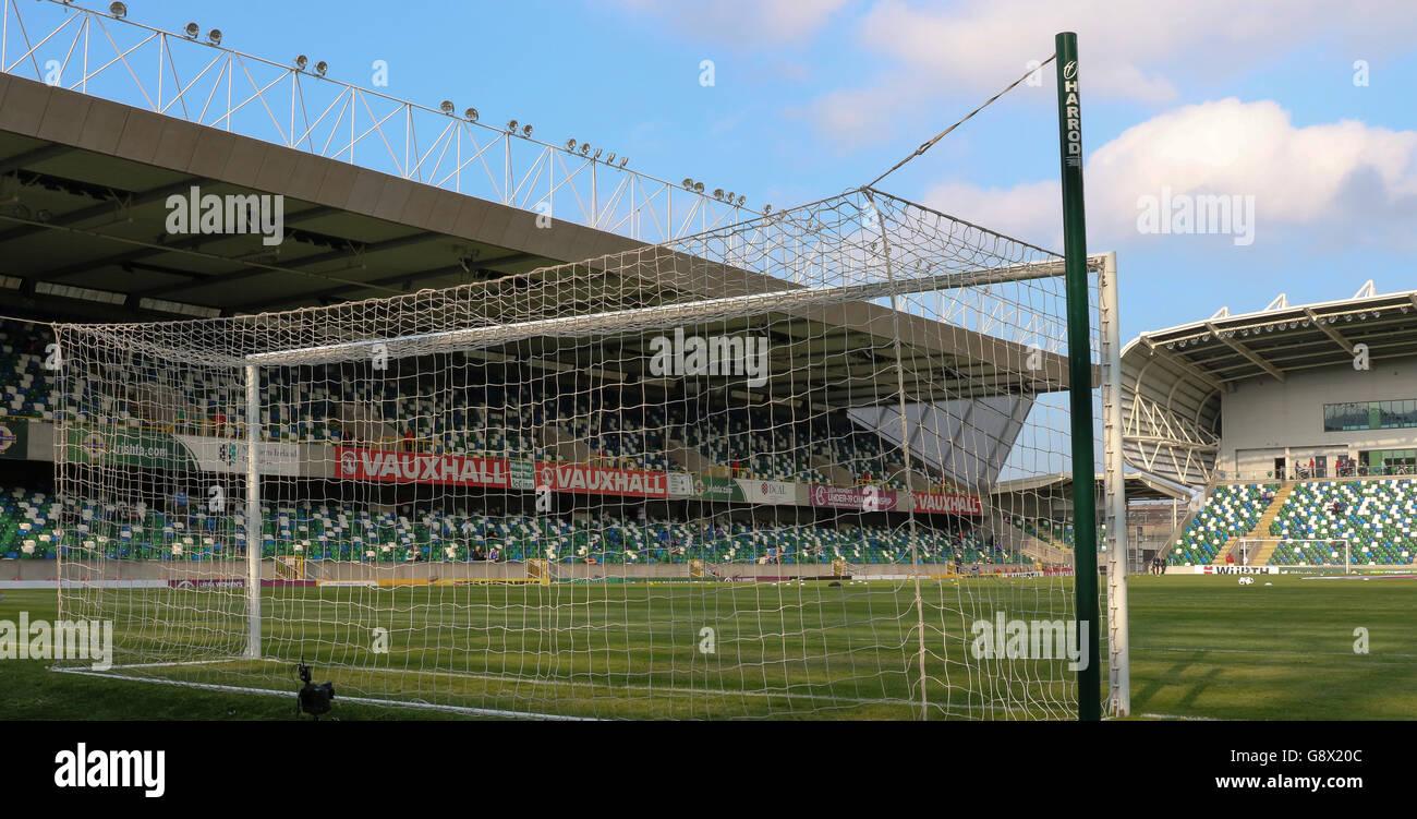 The National Football Stadium At Windsor Park Belfast Where