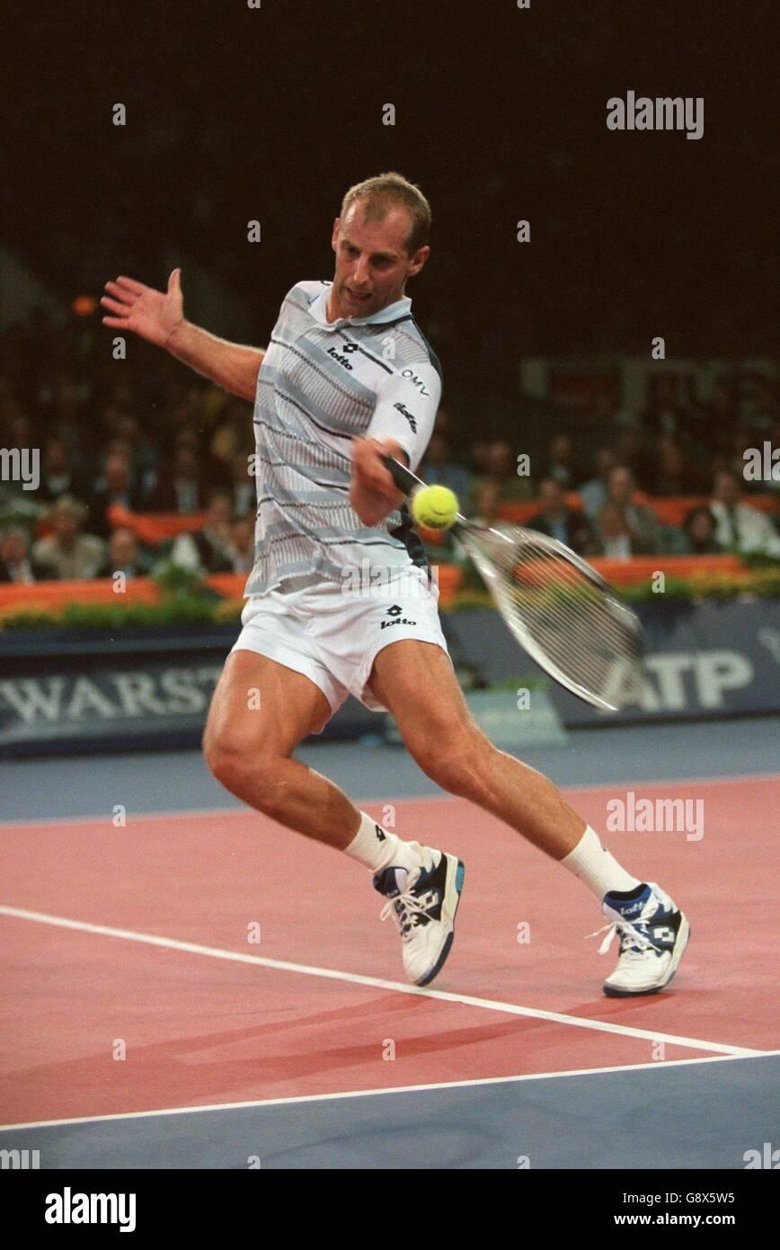 Tennis ATP World Championship Carlos Moya v Thomas Muster