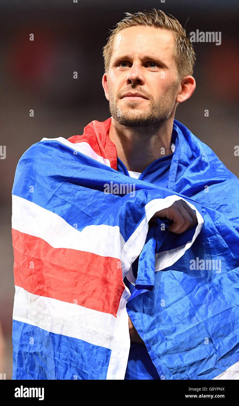 Nice France 27th June 2016 Gylfi Sigurdsson of Iceland