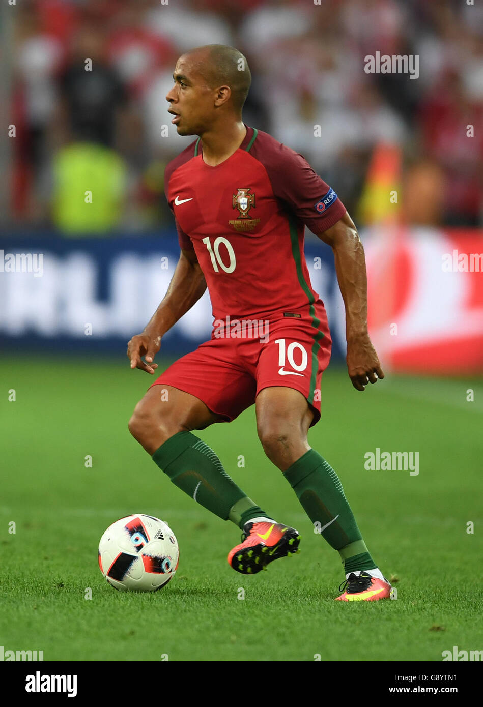 Marseille France 30th June 2016 Joao Mario of Portugal in