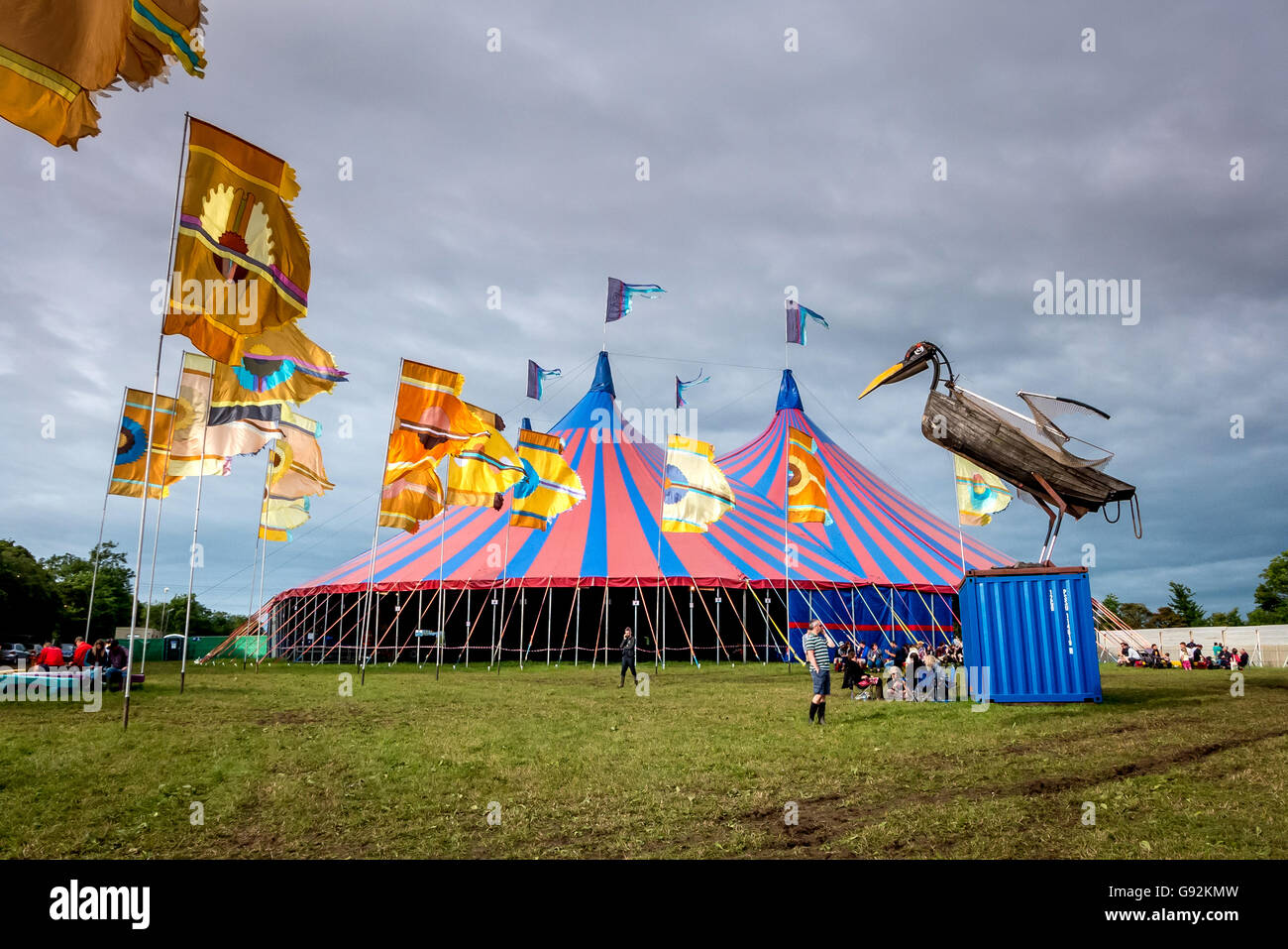 The Acoustic Tent and Field at The 2016 Glastonbury Festival of Contemporary Performing Arts & The Acoustic Tent and Field at The 2016 Glastonbury Festival of ...