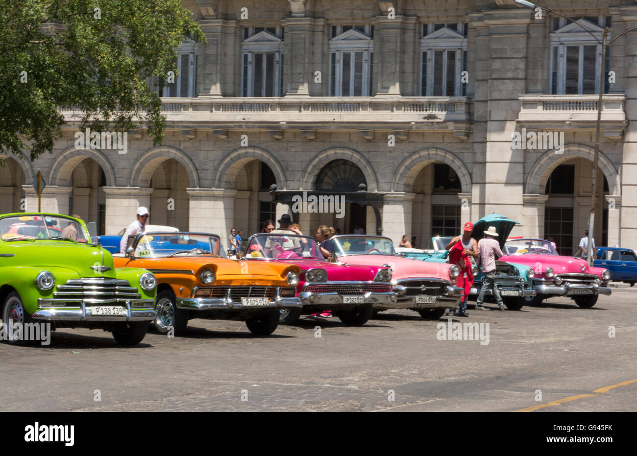 Cuban Classic Car Rental