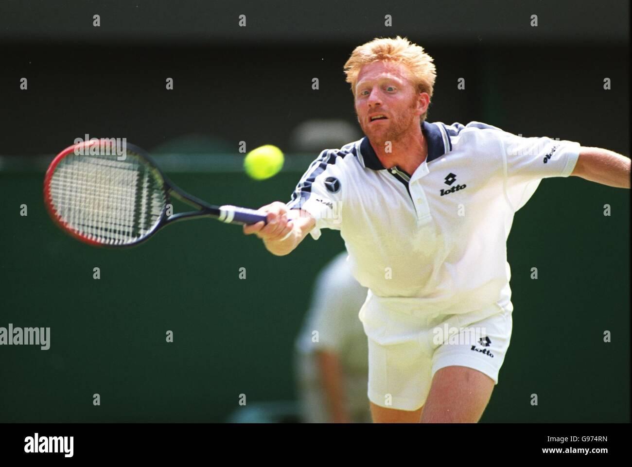 Tennis Wimbledon Mens Singles Boris Becker v Lleyton Hewitt