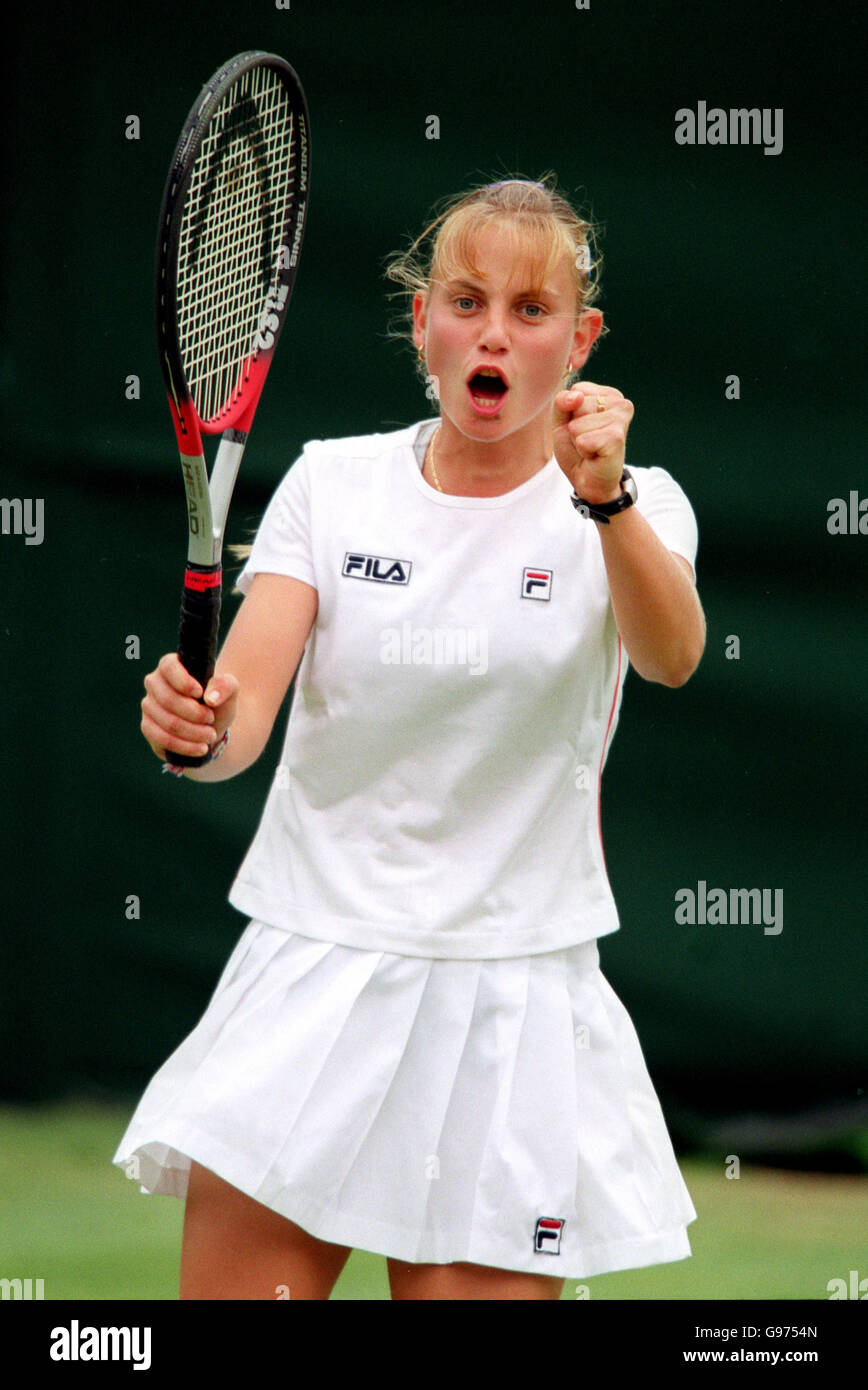 Tennis Wimbledon Womens Singles Jelena Dokic v Mary Pierce