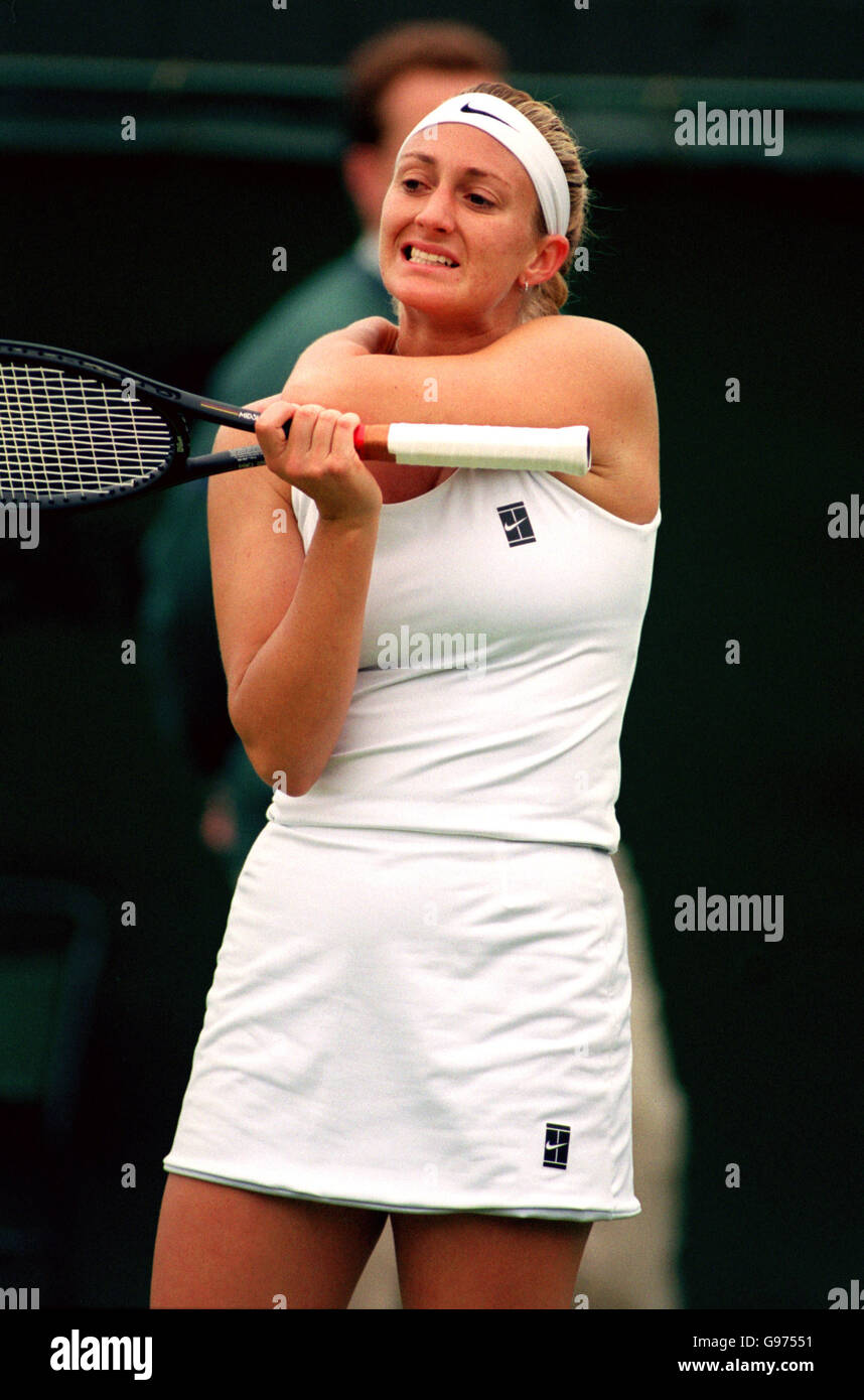 Tennis Wimbledon Womens Singles ry Pierce v Jelena Dokic