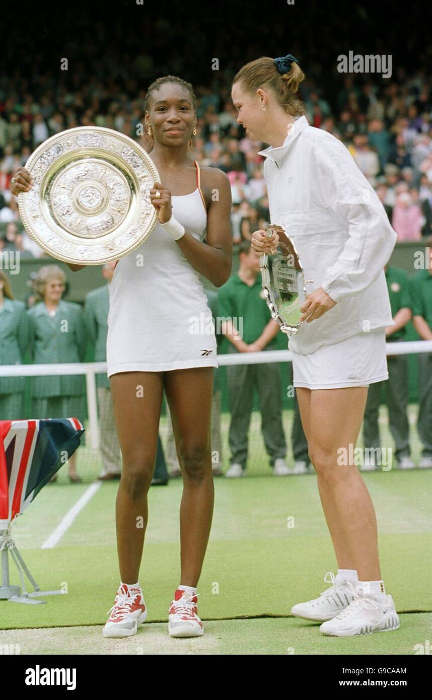 Tennis Wimbledon Championships La s Singles Final Venus