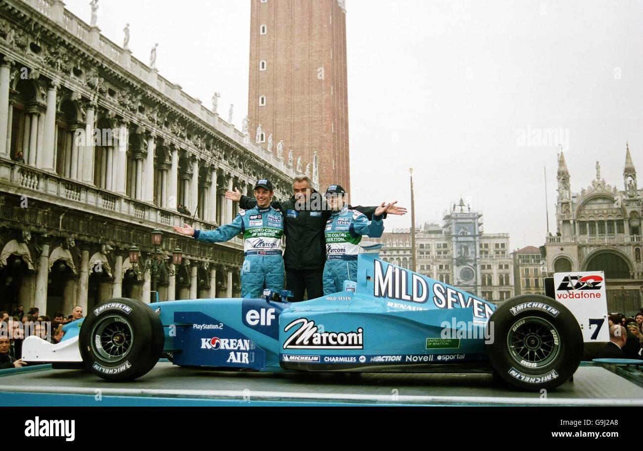 Motor Racing - Formula One - Mild Seven Benetton Renault Sport ...