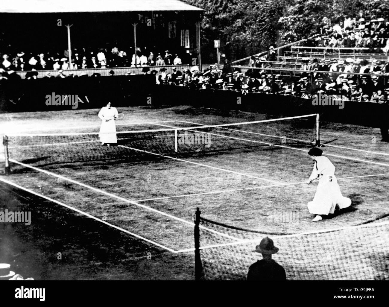 Tennis Wimbledon Championships La s Singles Final Dora