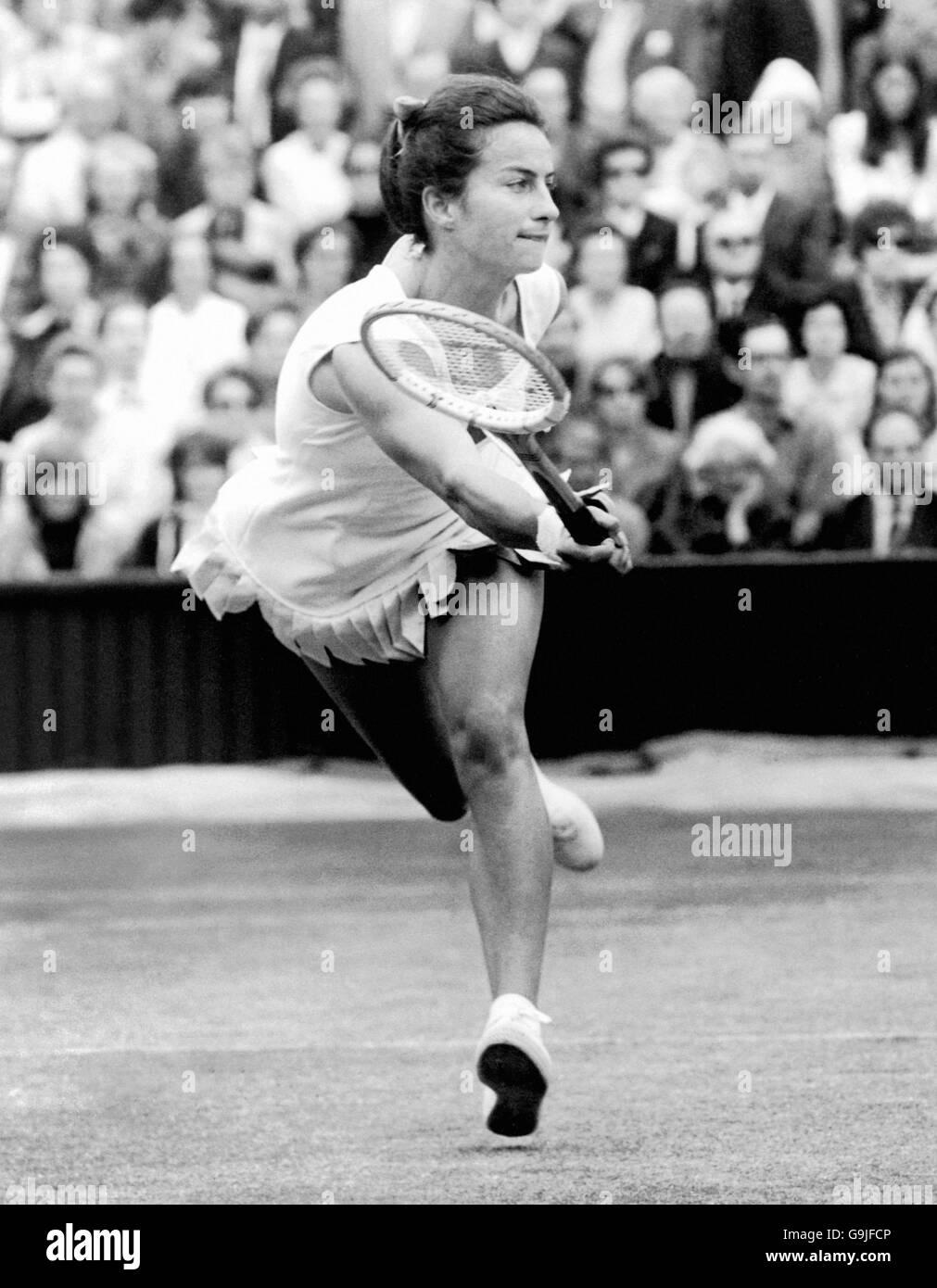 Tennis Wimbledon Championships Womens Singles Virginia Wade
