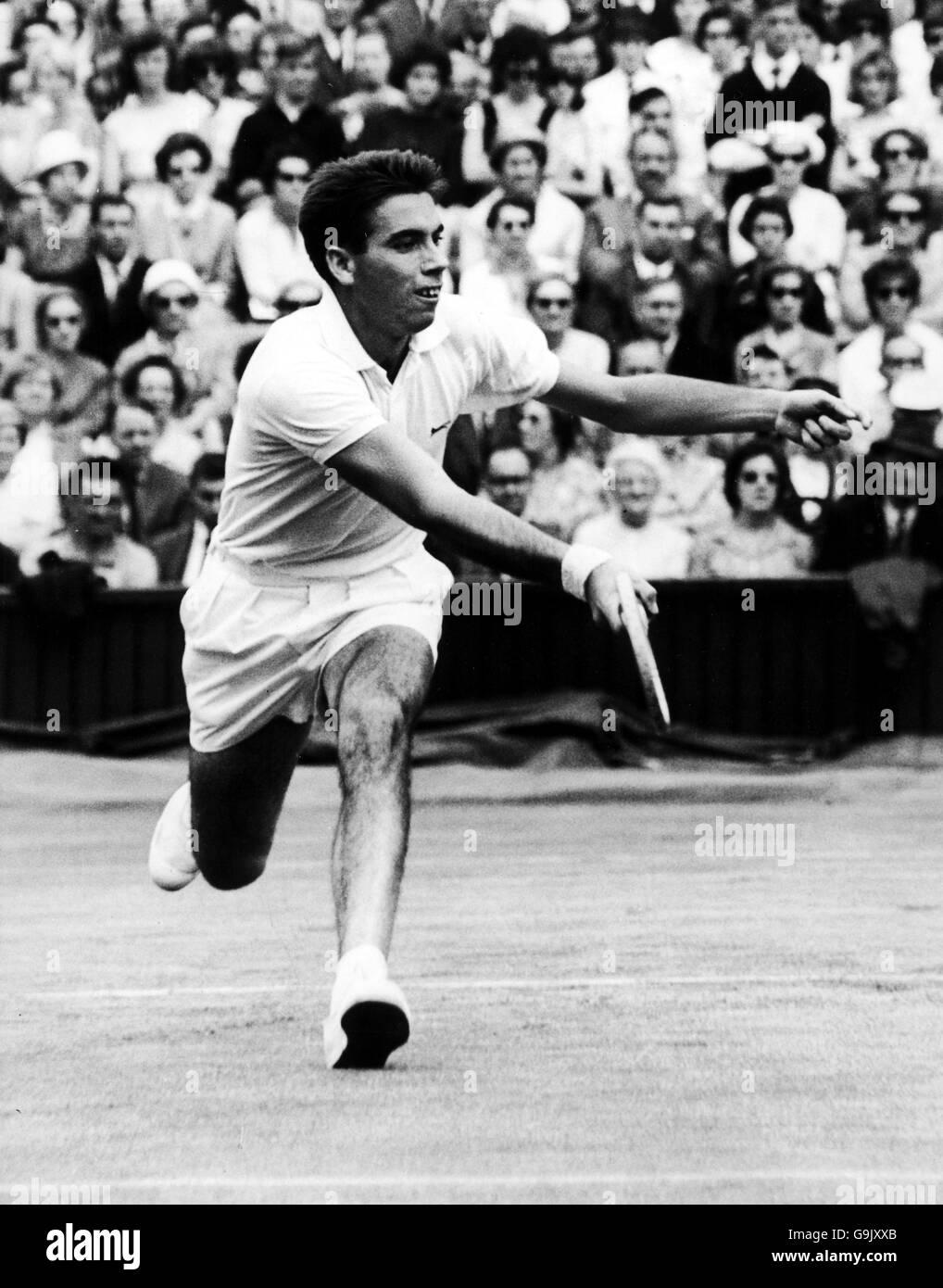 Tennis Wimbledon Championships Men s Singles Manuel Santana